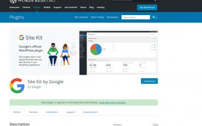 Google brengt Site Kit WordPress plugin uit