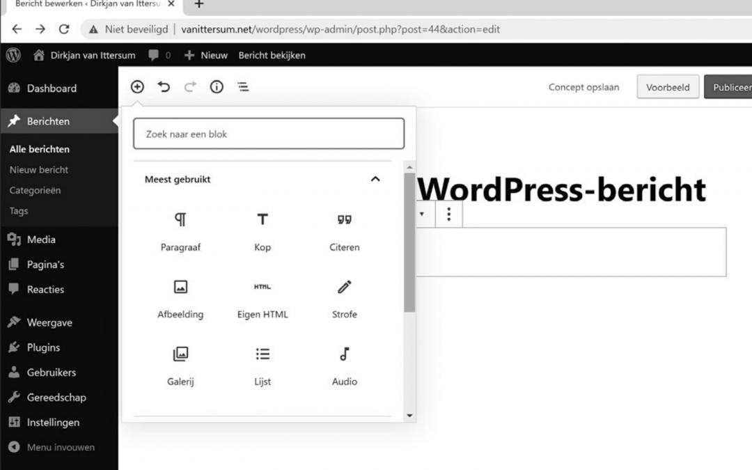 Gutenberg versus pagebuilders 2020: Een jaar na WordPress 5.0